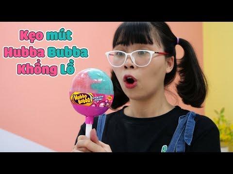 Làm Kẹo Mút Hubba Bubba Khổng Lồ - Đáng Đời Anh Hai Tham Lam - Thời lượng: 10 phút.