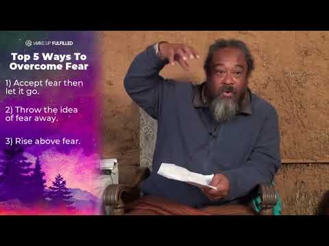 Mooji Video: Top 5 Ways to Overcome Fear
