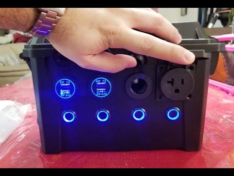 DIY Portable Solar Generator - (515Wh Lithium 3S 12P 18650's)