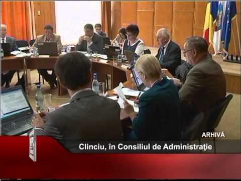 Clinciu, în Consiliul de Administraţie