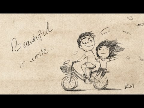 Beautiful In White - Westlife (Shane filan) with Lyric - Thời lượng: 3:44.