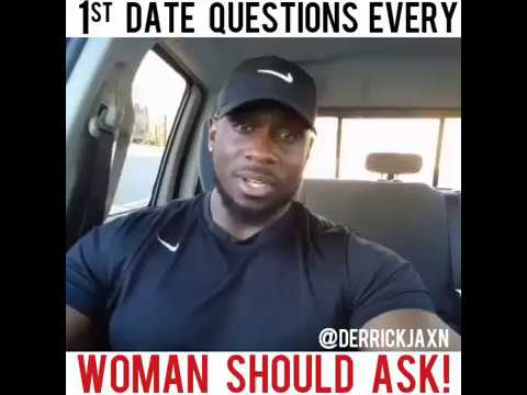 1st DATE QUESTIONS EVERY WOMAN SHOULD ASK!