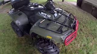 6. Arctic Cat 500 Review / For Sale