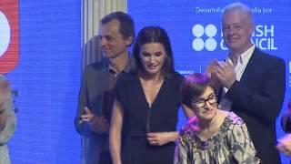S.M. la Reina entrega los premios Famelab España 2019