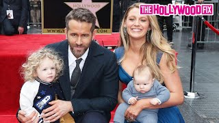 Download Video Ryan Reynolds & Blake Lively's Kids Steal The Show At Walk Of Fame Ceremony 12.15.16 MP3 3GP MP4