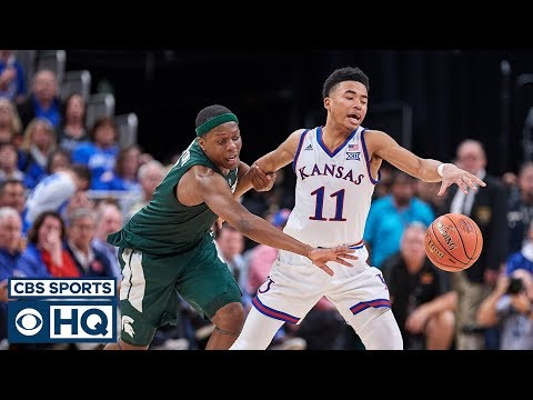 Video: Kansas Survives Against Michigan State | CBS Sports HQ