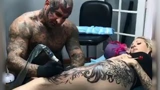Video Most painful place on your body to get a tattoo (part 1) MP3, 3GP, MP4, WEBM, AVI, FLV Juni 2018