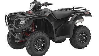 2. 2015 Honda TRX500 Rubicon Introduction and Specifications Al Lamb's Dallas Honda