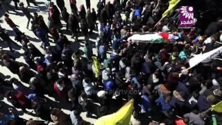تشييع جثمان الأسير الشهيد محمد ثابت الجلاد في مدينة طولكرم