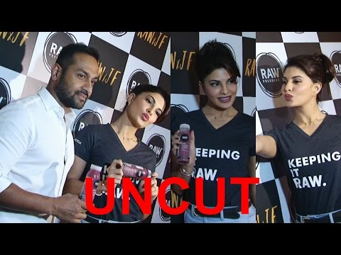 UNCUT: Jacqueline Fernandez As Brand Ambassador For Beverage Brand