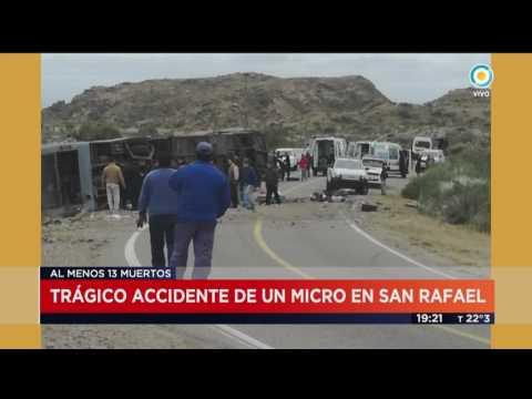 Argentina: Doce muertos deja accidente de bus de niños (VIDEO)