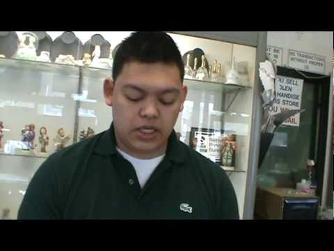 About Pawn Shops - How To Test White Gold & Stainless Steel