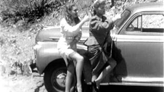 Unexpected Experience of Two Girl Hitch-Hikers (1940's)