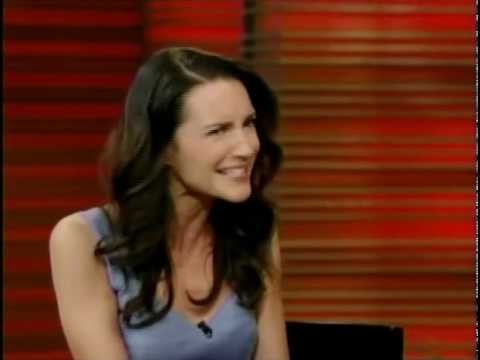 Kristin Davis - Kristin Davis on Live! with Regis and Kelly discussing her Fitness Magazine cover.