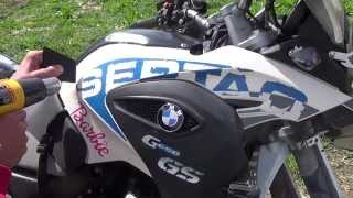 8. Factory Decal Removal BMW G 650 GS Sertao how too