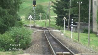 Oberwiesenthal Germany  City pictures : Zug der Fichtelbergbahn von Oberwiesenthal nach Cranzahl_Eisenbahnromantik