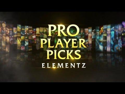 [LoL] Pro Player Pick: Elementz Picks Wukong - Rus