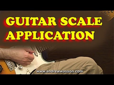 Improving Guitar Scale Application