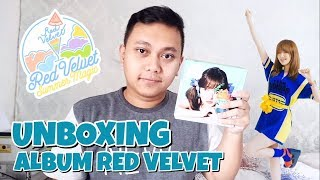 RED VELVET SUMMER MINI ALBUM SUMMER MAGIC LIMITED EDITION UNBOXING [Bahasa Indonesia]