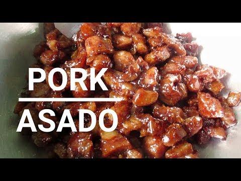 Pork Asado I How to cook Pork Asado Recipes