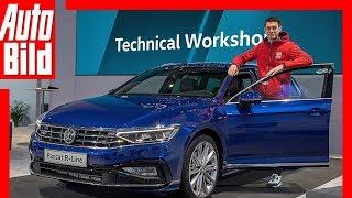 VW Passat Facelift (2019) Sitzprobe / Check / Review by Auto Bild