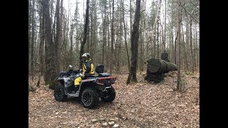 2. 2018 can am outlander 650 max xt - Pinery Historic site to Kinmount