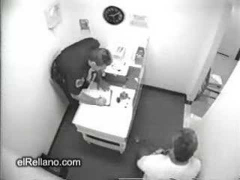 Drunk in Police Custody