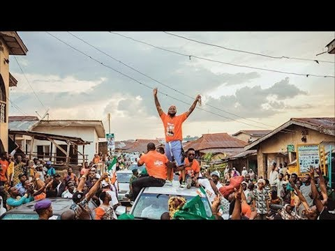 Davido & Chioma Storms Ede With Broda Shaggi To Campaign For Ademola Adeleke {pdp} In Osun