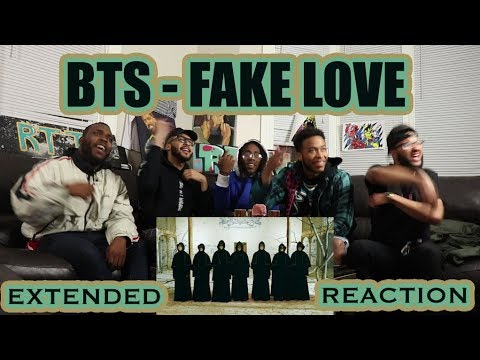 Video BTS (방탄소년단) 'FAKE LOVE' Official MV (Extended ver.) REACTION/REVIEW download in MP3, 3GP, MP4, WEBM, AVI, FLV January 2017