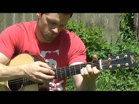 9 Crimes – Damien Rice – Fingerstyle Guitar Interpretation