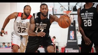 Jonathon Simmons GETS CREATIVE Going Through the Legs!!! by NBA