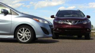 2012 Mazda 5 Vs Nissan Murano Mashup Review