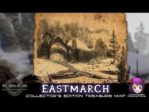 eastmarch ce treasure map elder scrolls online wiki