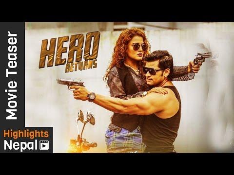 Video HERO RETURNS - New Nepali Movie Official Teaser 2017 Ft. Rekha Thapa, Sabin Shrestha download in MP3, 3GP, MP4, WEBM, AVI, FLV January 2017