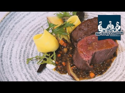 Tortellini, rib of beef and chocolate tart recipes from James Devine
