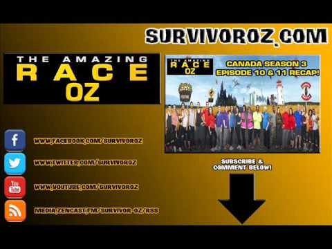 The Amazing Race Oz - Canada Season 3 Episodes 10 & 11 Recap