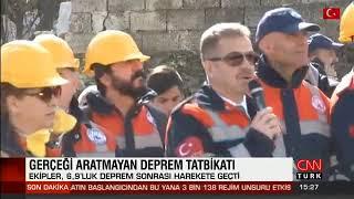 Gaziosmanpaşa'da Deprem Tatbikatı - Cnn Türk