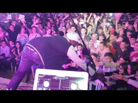 Negro Jari en concierto con Haze. Feria Viso del Alcor (Sevilla)