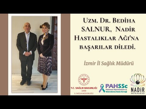 İzmir İl Sağlık Müdürü Uzm. Dr. Bediha Salnur _ PAHSSC - Nadir Hastalıklar Ağı - 2019.01.02