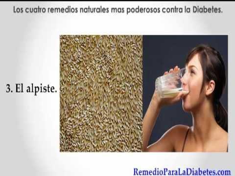 Remedio Para Diabetes.(Los 4 remedios mas poderosos)