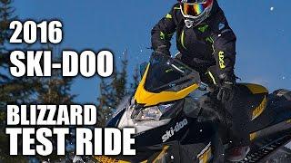 8. TEST RIDE: 2016 Ski-Doo MXZ Blizzard 800R
