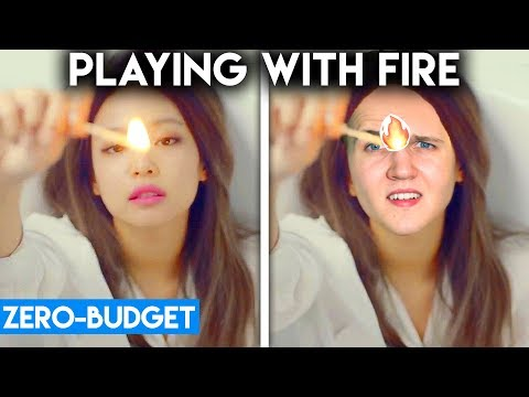 K-POP WITH ZERO BUDGET! (BLACKPINK - PLAYING WITH FIRE)