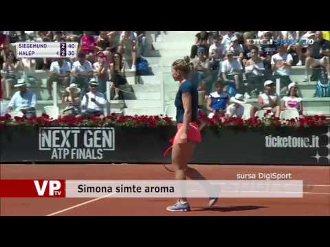 Simona simte aroma