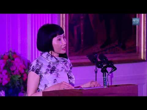 Amy Tan speech at the White House