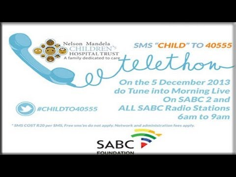 The SABC-Nelson Mandela Children's Hospital Telethon & Fundraising Breakfast