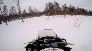 3. Testing out Arctic Cat F8 SnoPro 800