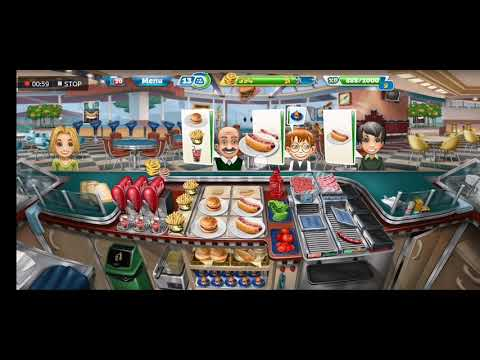 Fast Food Court LEVEL 25 : Cooking Fever | Nordcurrent