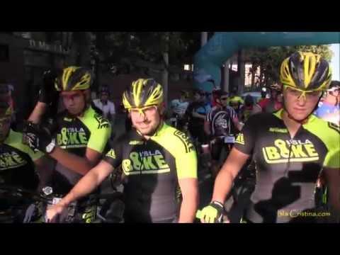 Salida y Final de la X Ruta Ciclista BTT Nocturna Ciudad de Isla Cristina 2017