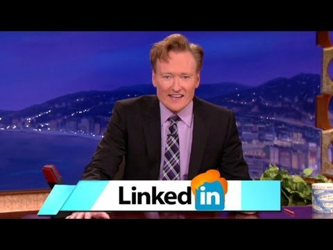 Obrien - Conan's intent on expanding his social media empire -- and won't stop until he's the #1 Influencer on LinkedIn. More CONAN @ http://teamcoco.com/video Team C...