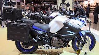 8. 2015 Yamaha XT1200ZE Super Tenere - Walkaround - 2014 EICMA Milan Motorcycle Exhibition